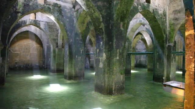 Ramla, the ancient Muslim underground pool of arches