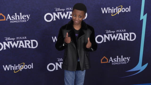 ramon reed at the onward world premiere at the el capitan theatre on february 18 2020 in hollywood california - el capitan theatre stock videos & royalty-free footage