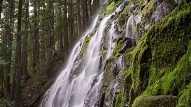 Ramona Falls. Time-lapse through Oregon