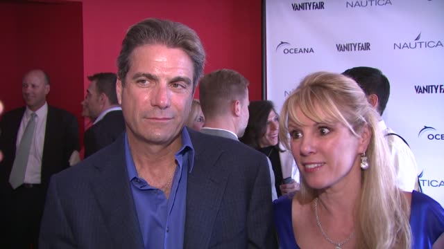 ramona singer mario singer on what brings them out tonight why it is important to protect the oceans and their tips for people to help save the ocean... - oceana stock videos & royalty-free footage