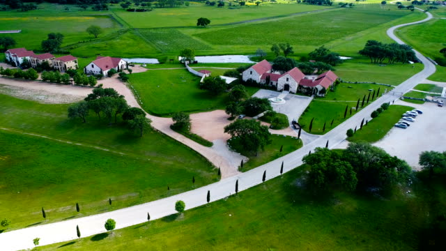 Ranch Homes on vineyard with wine fields in the background