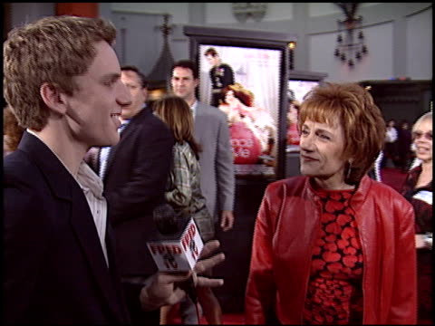 randa haines at the premiere of 'the prince and me' at grauman's chinese theatre in hollywood, california on march 28, 2004. - mann theaters stock videos & royalty-free footage