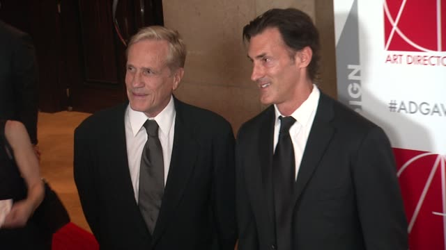 Randal Kleiser and Greg O'Connor at the 19th Annual Art Directors Guild Excellence In Production Design Awards at The Beverly Hilton Hotel on January...