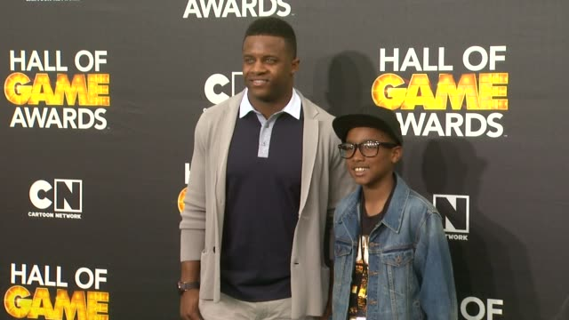 Randall Cobb at Cartoon Network Hosts Fourth Annual Hall Of Game Awards at Barker Hangar on February 15 2014 in Santa Monica California