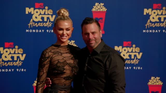 MOTION Randall Emmett and Lala Kent at the 2019 MTV Movie TV Awards at Barkar Hangar on June 15 2019 in Santa Monica California