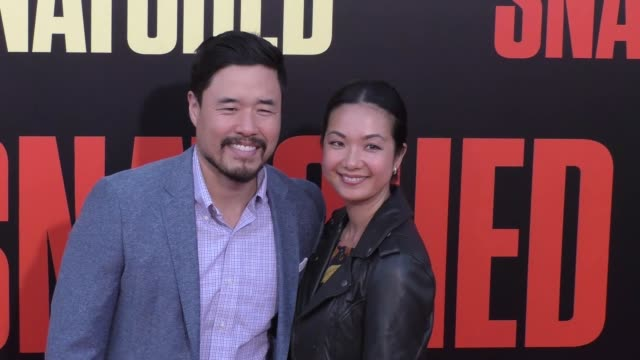 randall park & jae w. suh at the premiere of 20th century fox's 'snatched' - arrivals on may 10, 2017 in westwood, california. - 20th century fox stock videos & royalty-free footage