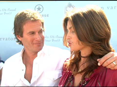 Rande Gerber and Cindy Crawford on if they dislike the interviews on what they're looking forward to today on if they're looking forward to making...