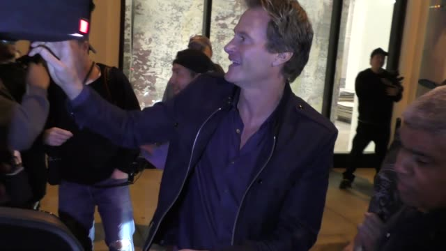 Rande Gerber hands out Tequila to the paparazzi outside Catch Restaurant in West Hollywood in Celebrity Sightings in Los Angeles