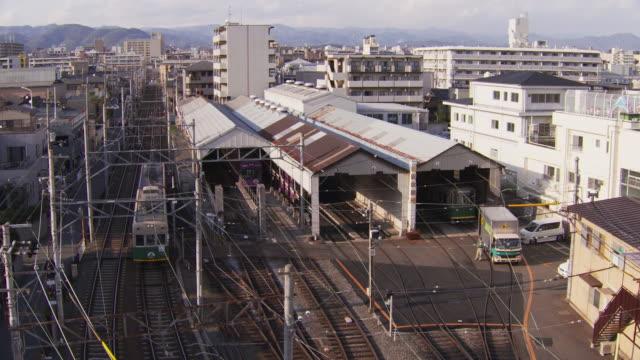 Randen Tram Lines And Sai Train Shed Of Keifuku Electric Railroad Co., Ltd.