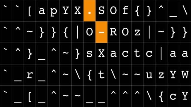 vídeos de stock e filmes b-roll de random letters on black background - chance