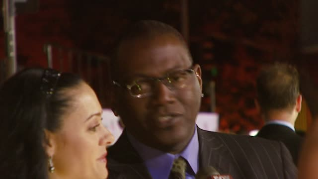randy jackson and guest at the 2007 people's choice awards arrivals at the shrine auditorium in los angeles, california on january 9, 2007. - people's choice awards stock videos & royalty-free footage