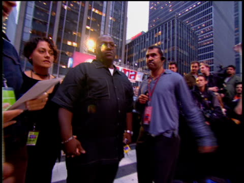 Randy Jackson Arriving to the 2002 MTV Video Music Awards Red Carpet