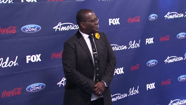 randy jackson at meet the american idol judges finalists on 3/1/2012 in los angeles ca - american idol stock videos and b-roll footage