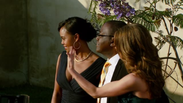 randy jackson at the chrysalis butterfly ball at a private residence in los angeles california on june 2 2007 - chrysalis butterfly ball video stock e b–roll