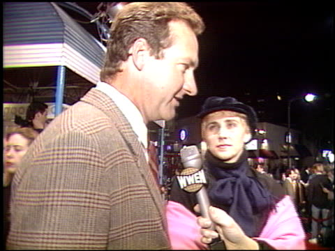 randy quaid at the 'a few good men' premiere on december 9, 1992. - randy quaid stock videos & royalty-free footage