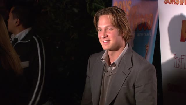 randy spelling at the 'sons of hollywood' premiere launch party at les deux in los angeles california on march 29 2007 - les deux club stock videos & royalty-free footage