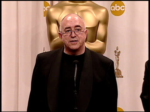 randy thom at the 2005 academy awards at the kodak theatre in hollywood, california on february 27, 2005. - 77th annual academy awards stock videos & royalty-free footage