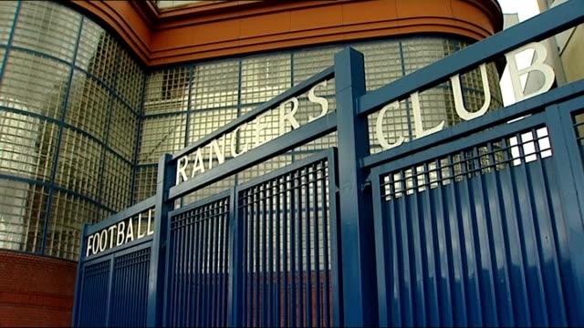 Rangers football club future in doubt after preferred bidder withdraws offer SCOTLAND Glasgow Ibrox Stadium EXT General view exterior Ibrox Stadium...