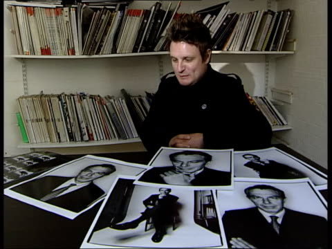 Rankin interviewed on photographing Blair SOT Very shiny man