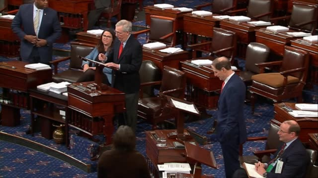 Ranking Democrat on the Senate Finance Committee Ron Wyden of Oregon reserves his right to object to ask Majority Leader Mitch McConnell of Kentucky...