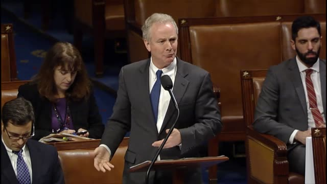 ranking member of the house budget committee chris van hollen of maryland compares a debt prioritization bill the prior week with a bipartisan budget... - medicaid stock videos and b-roll footage