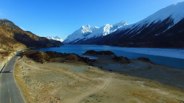 Ranwu lake,Tibet landscape, Tibet, China.