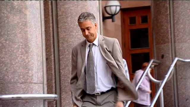 newcastle crown court peter raveston leaving court - moat stock videos & royalty-free footage