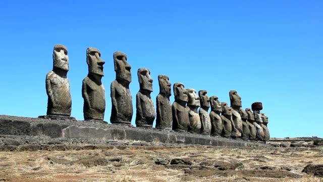 Nationalpark Rapa Nui Moais, Osterinsel, Chile