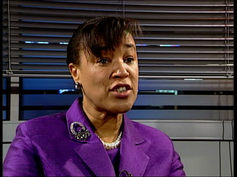 rape conviction rates at all-time low; england london int baroness scotland of asthal interview sot - we have to address the issue/ think we are... - victim stock videos & royalty-free footage