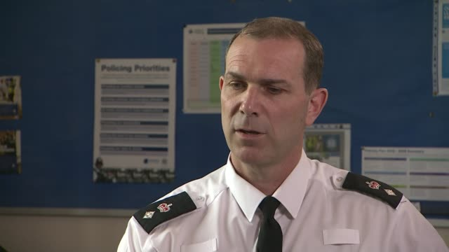 rape victim wins police payout after being wrongly accused of lying england hampshire int chief superintendent david powell interview sot we got it... - 被告人点の映像素材/bロール
