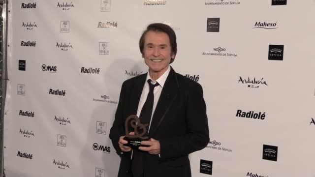 raphael attends the radioole awards ceremony - raphaël haroche stock videos and b-roll footage
