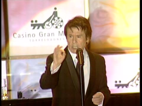 raphael singing in the casino of torrelodones on february 01 2010 in madrid spain - raphaël haroche stock videos & royalty-free footage