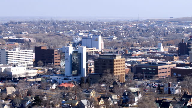 vidéos et rushes de rapid city, dakota du sud, usa - dakota du sud