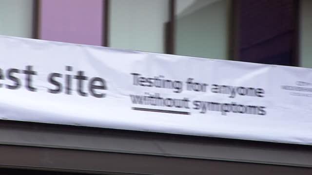 rapid coronavirus testing site in wolverhampton - west midlands stock videos & royalty-free footage