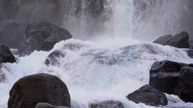 SLO MO Rapids of Oxarafoss waterfall