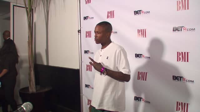 Rapper YG at the Salute To BMI's BET Awards Nominees at Los Angeles CA