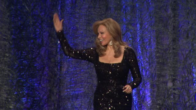 SPEECH Raquel Welch at The 16th Costume Designers Guild Awards at The Beverly Hilton Hotel on February 22 2014 in Beverly Hills California