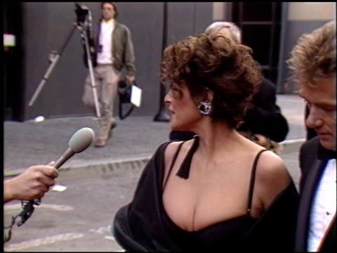 Raquel Welch at the 1990 People's Choice Awards on March 11 1990
