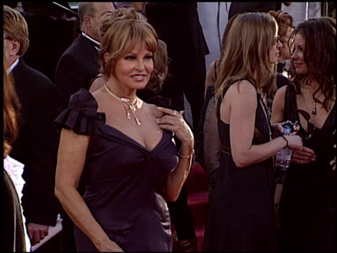 Raquel Welch at the 2005 Golden Globe Awards at the Beverly Hilton in Beverly Hills California on January 16 2005