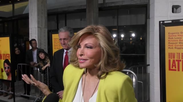 Raquel Welch at the Premiere Of Pantelion Films' 'How To Be A Latin Lover' on April 26 2017 in Hollywood California