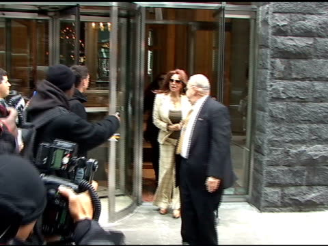 raquel welch in new york at the celebrity sightings in new york at new york ny - raquel welch stock videos & royalty-free footage