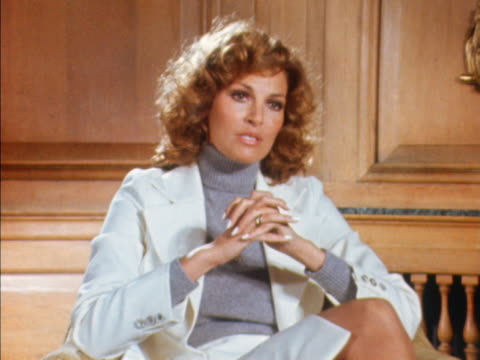 Raquel Welch talks about being described as a sex symbol and peoples attitudes to that title