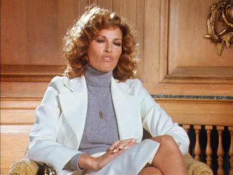 Raquel Welch talks about how vital statistics of womens figures are pointless