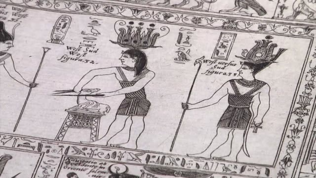 A rare 17th century Egyptology manuscript has been examined by the director of the Italian archaeological mission in Luxor two years after being...