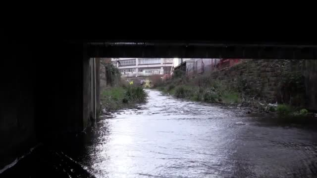 rare access into the hidden world of sheffield's underground rivers amid proposals to open up again the waterway that gave the city its name includes... - sheffield stock videos and b-roll footage
