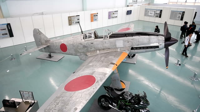 A rare fighter plane developed by a major Japanese motorcycle manufacturer 75 years ago during World War II has been restored as part of celebrations...