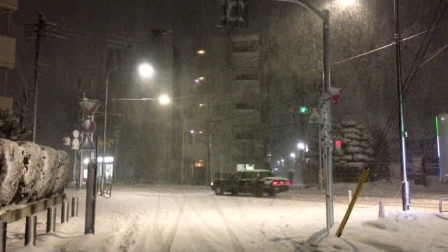 Rare winter storm dumps heavy snow on Tokyo Japan