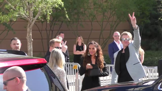 rascal flatts arriving to the 52nd academy of country music awards in celebrity sightings in las vegas - academy of country music awards stock videos & royalty-free footage