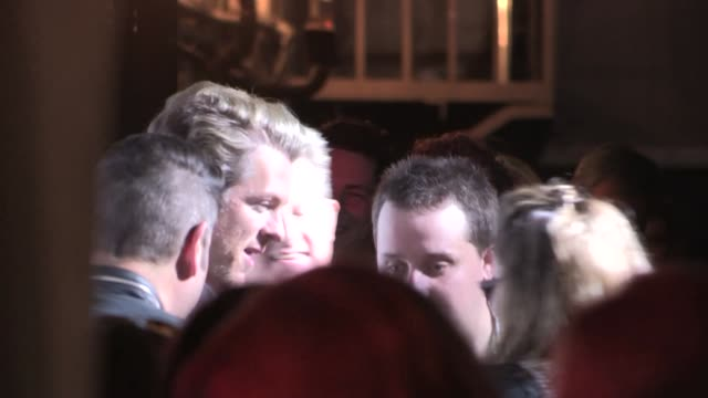 rascal flatts' gary levox with joe don rooney jay demarcus at the avalon in hollywood at celebrity sightings in los angeles on may 13 2014 in los... - rascal flatts stock videos & royalty-free footage