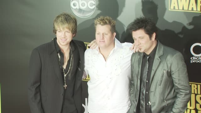 rascall flatts at the 2008 american music awards at los angeles ca - rascal flatts stock videos & royalty-free footage